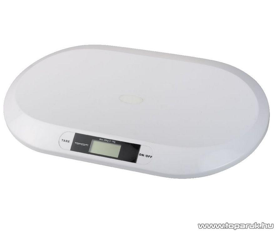TOPCOM WG-2490 2000 digitális baba mérleg