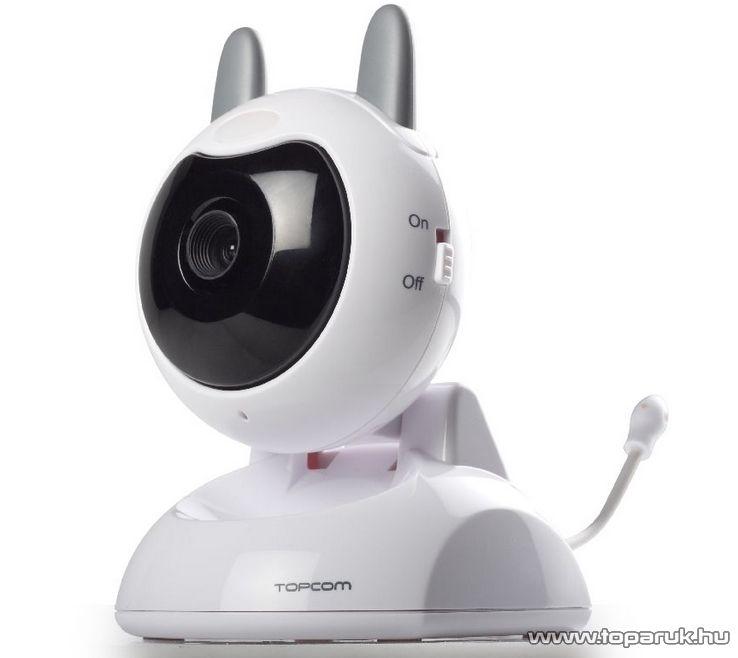 """TOPCOM KS-4246 kamerás bébiőr 3,5""""-os kijelzővel (babaőr) - készlethiány"""