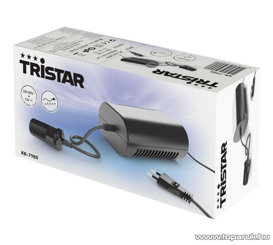 TRISTAR KB-7980 Hordozható konverter a 12V-os eszközök használatára 230V-os hálózaton