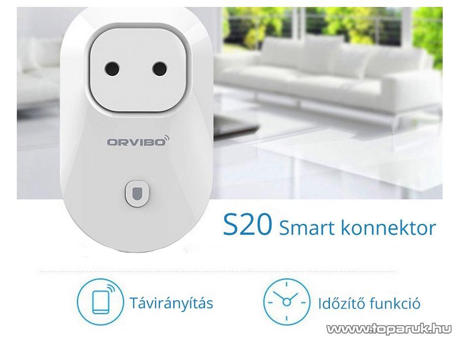 Orvibo S20 Wifis Smart okos konnektor - készlethiány