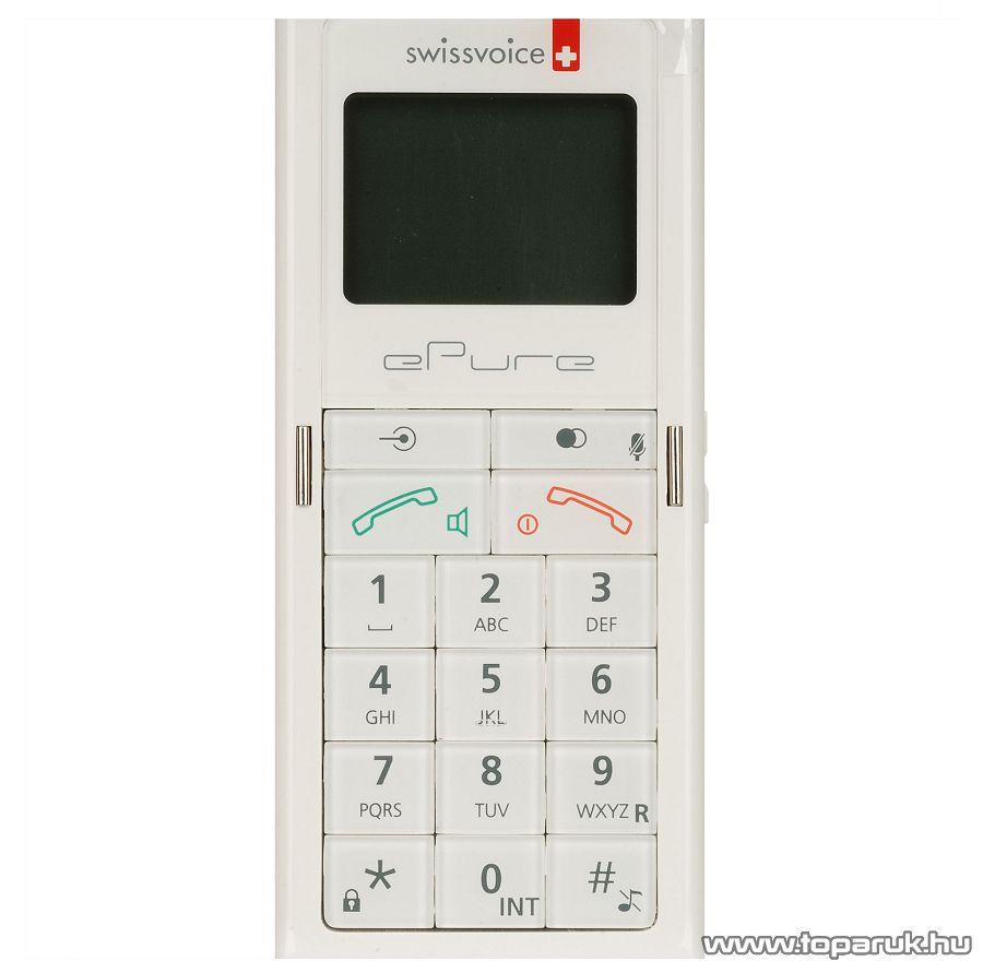 Swissvoice ePure White DECT telefon, fehér - megszűnt termék: 2015. november