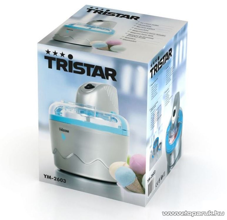 Tristar YM-2603 Fagylaltkészítő, fagylaltgép, fagyigép