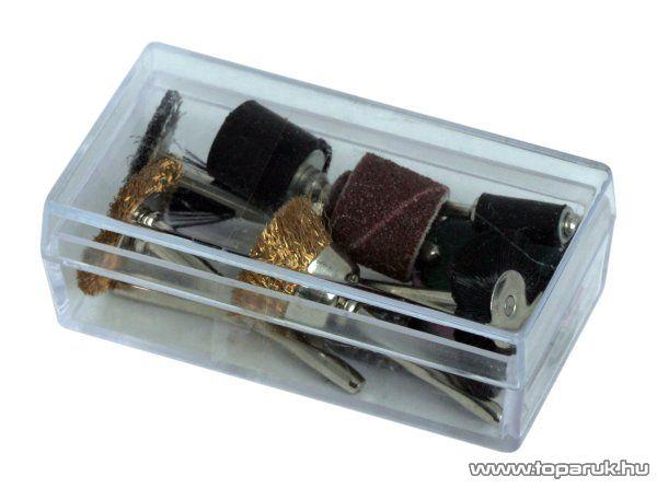 Handy 17 db-os panelfúró és gravírozó készlet, polír, köszörű, vágó korongok (10123) - készlethiány