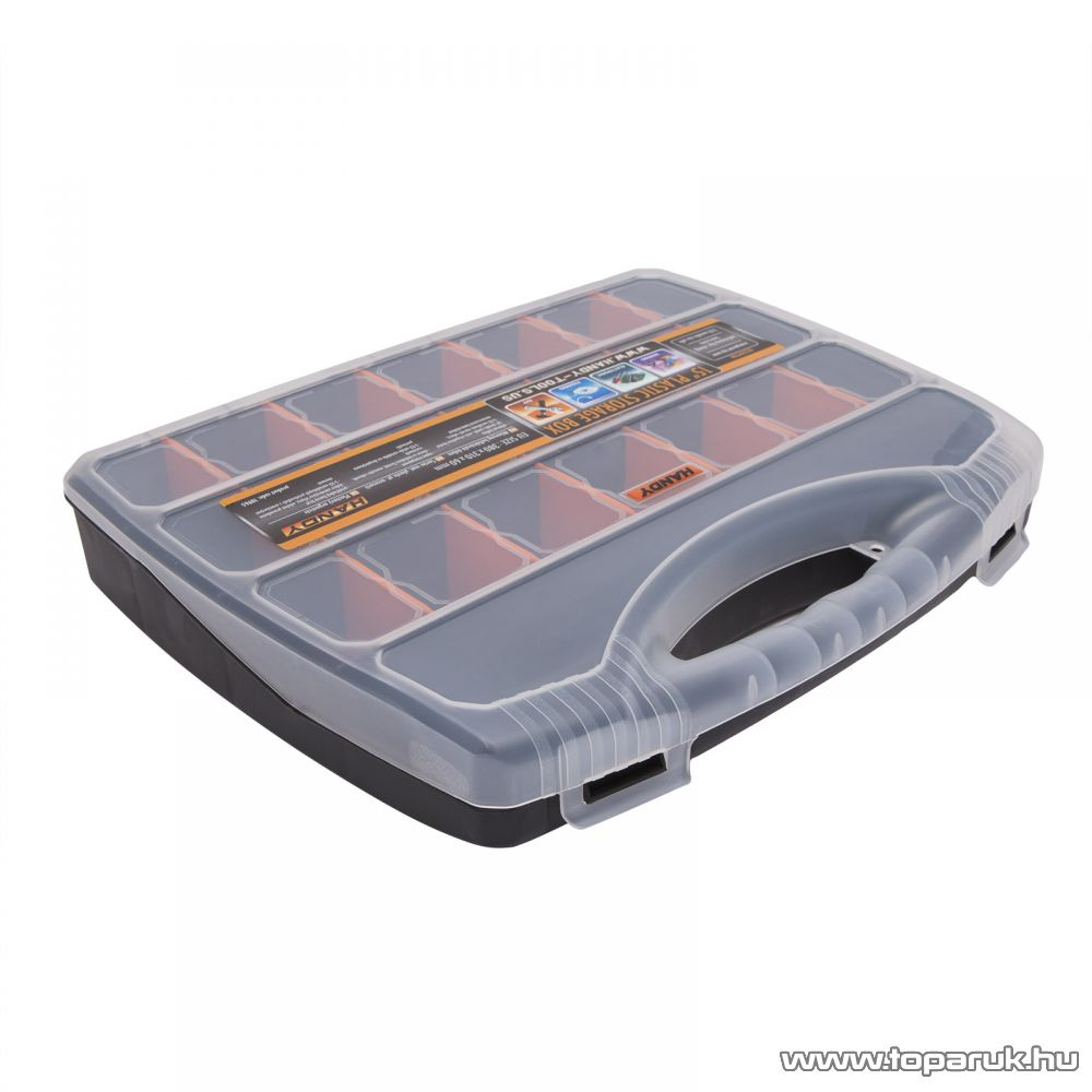 Handy Műanyag kelléktároló doboz, 380 x 310 x 60 mm (10965)