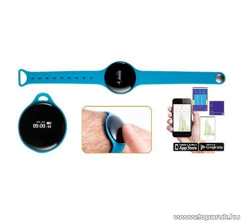 HOME FW 360/BL Aktivitás figyelő fitnessóra, 8 in 1 multifunkciós karóra, kék