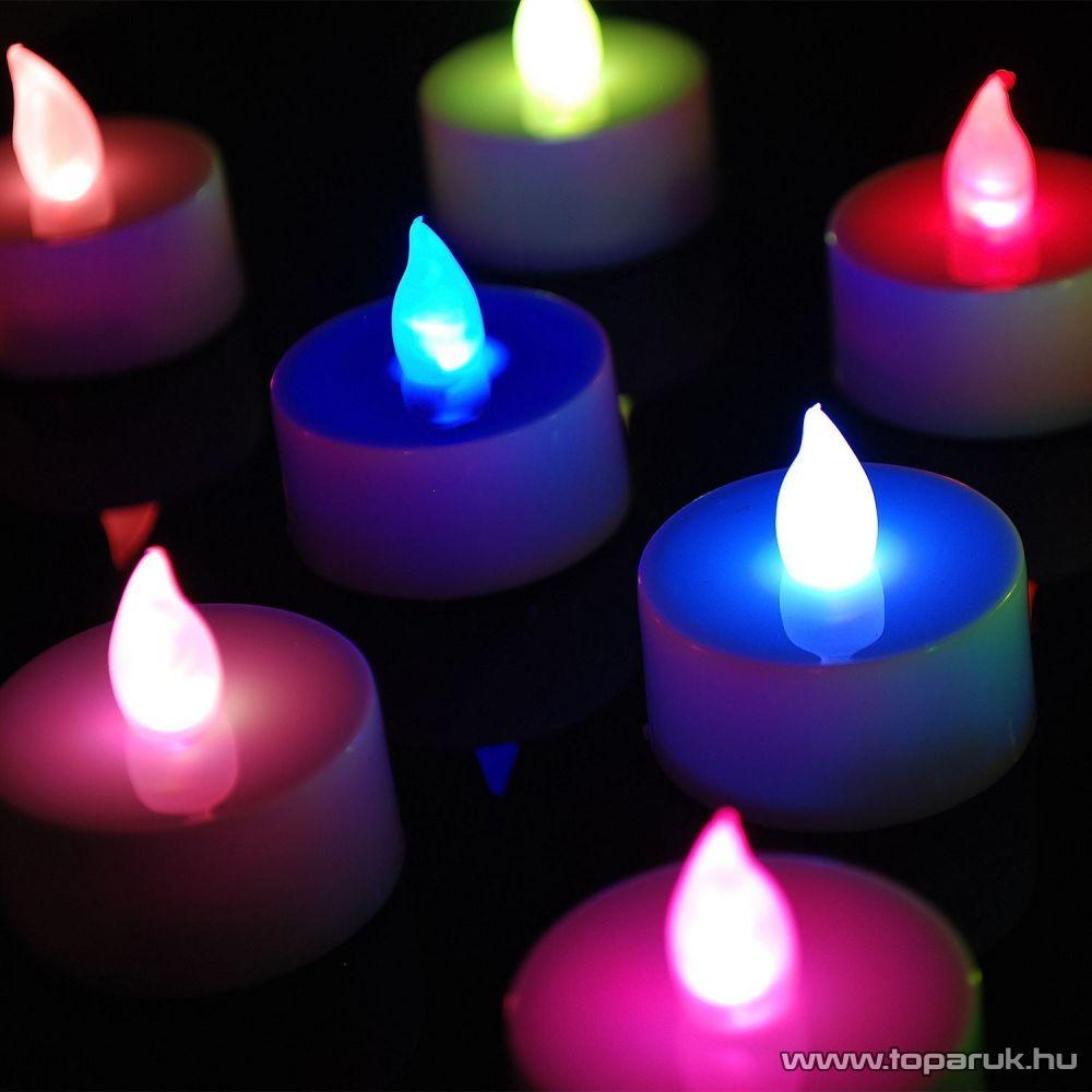 ARTI CASA EDC 4142 Beltéri LED-es, elemes teamécses szett, színes világítással + távirányítóval