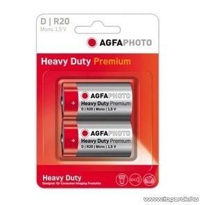AgfaPhoto AF R20 D elem, féltartós, 2 db / csomag