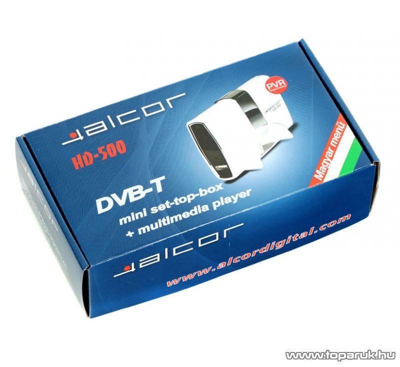 Alcor HD 500 DVB-T vevoegyseg - megszűnt termék: 2015. július