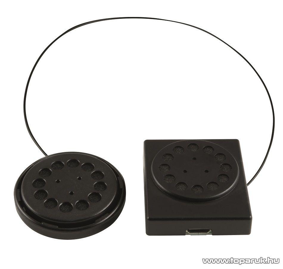 SAL BTH 032/CREAM Beépített akkumulátoros bluetooth sztereó extra puha okos sapka (headset), krém