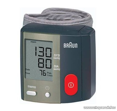 Braun BP 1650 TrueScan Plus csuklós vérnyomásmérő, pulzusmérő - megszűnt termék: 2015. május