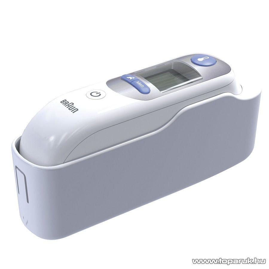 Braun IRT 6520 ThermoScan 7 infravörös fülhőmérő, Age Precision technológiával