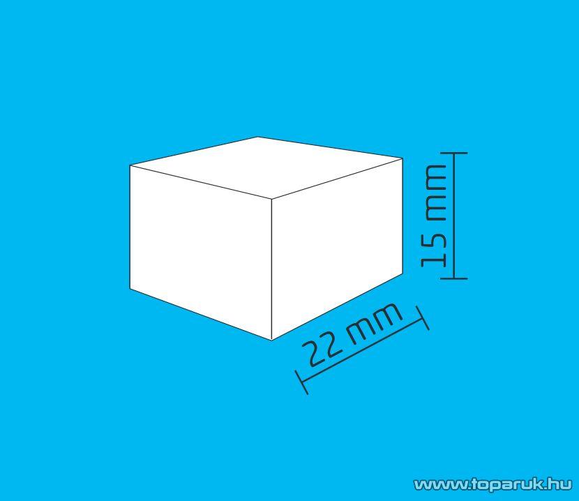 HOME DECO 5 Dekorációs szett izzósorhoz, doboz / kocka, 5 mm-es LED-re, 50 db / csomag