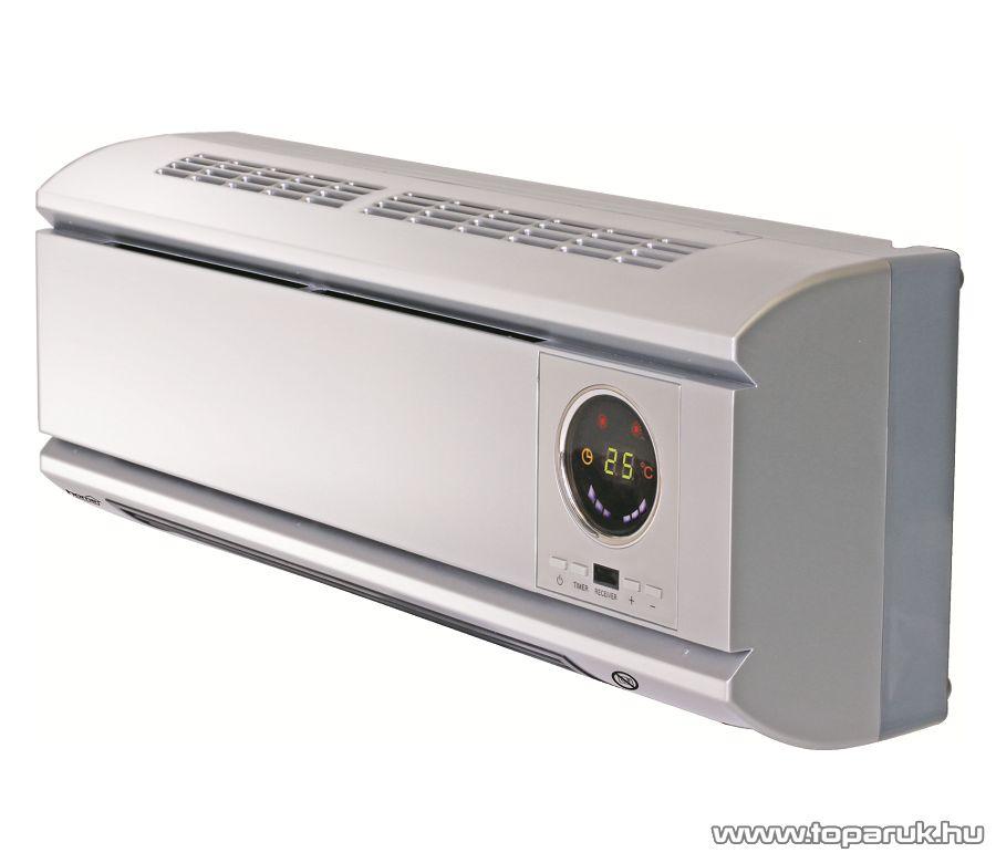HOME FKF 2000B LCD PTC Fali fűtőtest LCD kijelzővel, ezüst, 2000 W