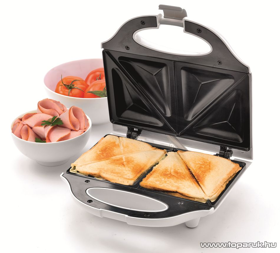 HOME HG SZ 02 Két szeletes szendvicssütő, 750 W