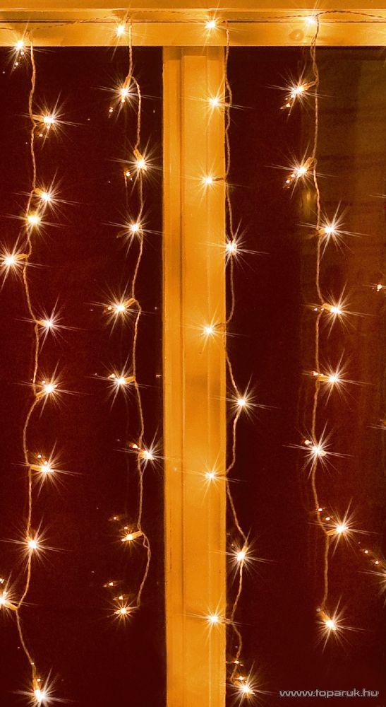 HOME KAC 100 Hagyományos izzós fényfüggöny, 100 db fehér izzóval