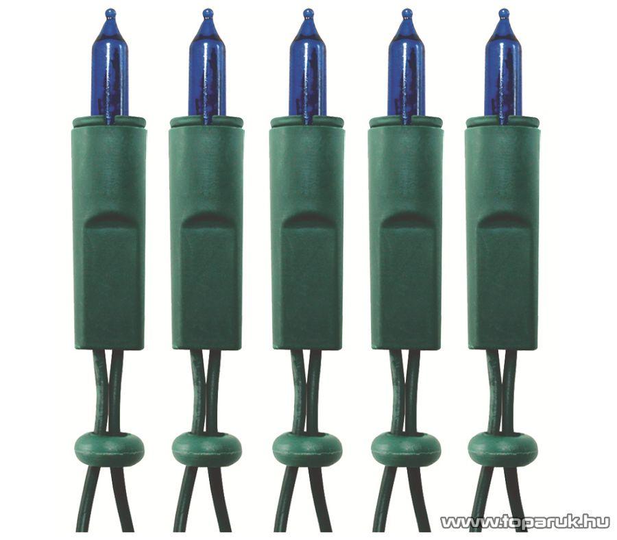 HOME KI 100/BL Hagyományos izzós fényfüzér, 100 db kék izzóval
