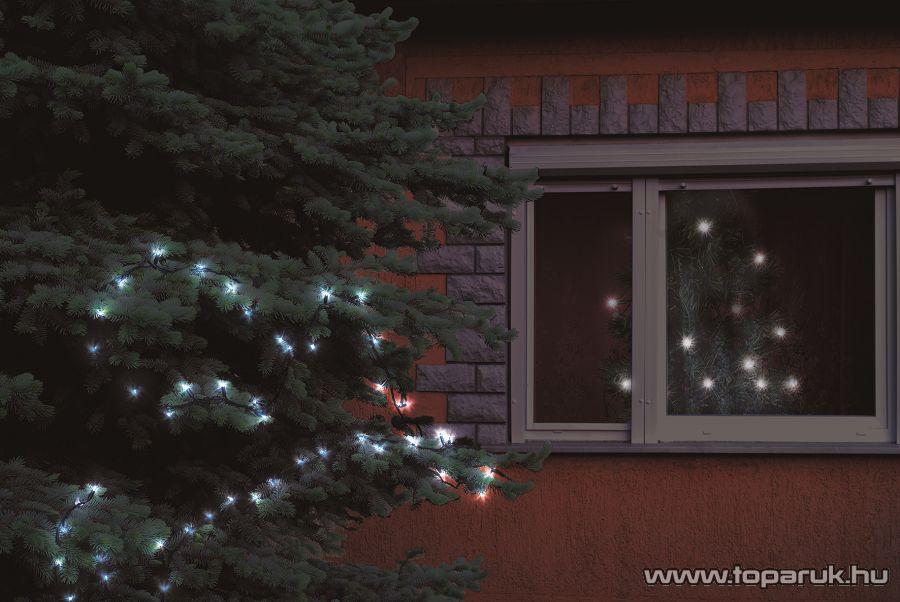 HOME KKL 108 Kültéri LED-es fényfüzér, 100 db hidegfehér LED-del