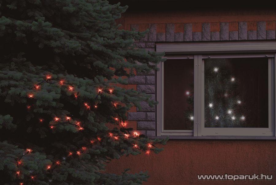 HOME KKL 108/RD Kültéri LED-es fényfüzér, 100 db piros LED-del
