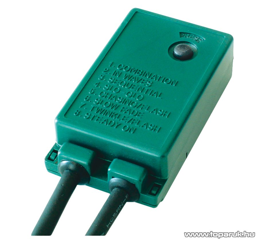 HOME KKL 40/8 Kültéri LED-es fényfüzér, hidegfehér