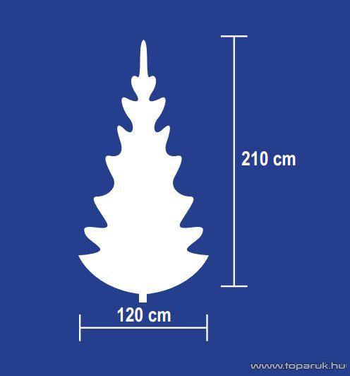 HOME KMF 3/210 Dús műfenyő, 210 cm, 1000 ág - készlethiány