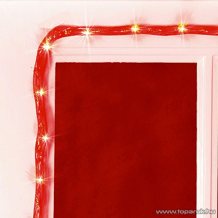 HOME KNT 80/RD Álló fényű világító cső (izzósor), 5 m hosszú, piros színű műanyag hálóban - megszűnt termék: 2014. október