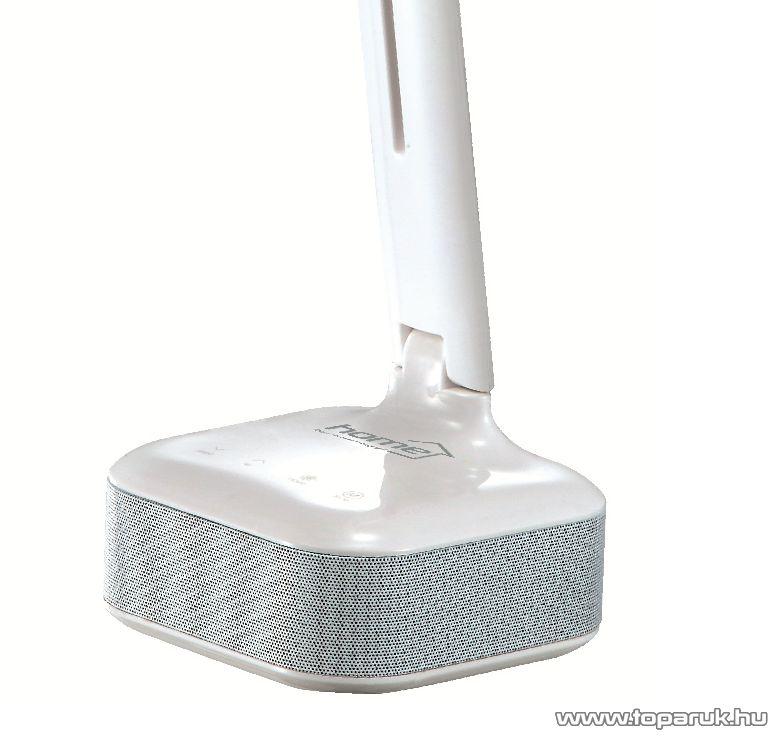 HOME LA 7 BT Érintőgombos, LED-es asztali lámpa, Bluetooth hangszóró kihangosító