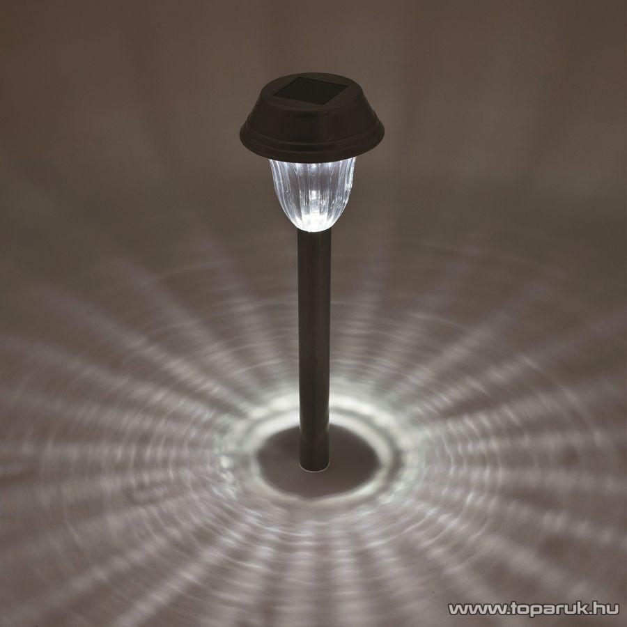 HOME MX 807/4 LED-es fém és műanyag kivitelű napelemes kerti szolár lámpa szett