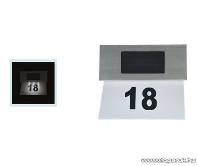 HOME MX 123 Szolár házszám világítás - készlethiány
