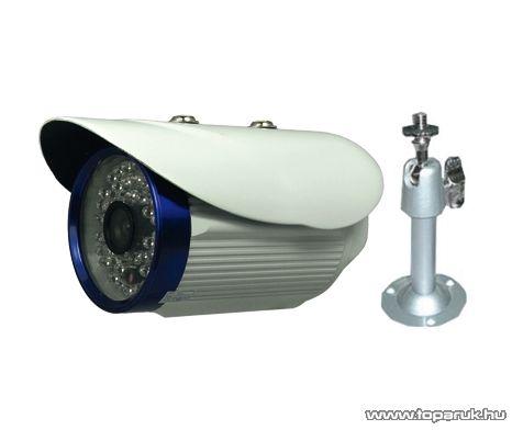 PROSTO SS-203C Kültéri fém házas színes biztonsági kamera