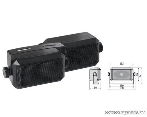 SAL BKB 40100 Szélessávú hangdobozpár, 20W-os - megszűnt termék: 2016. április