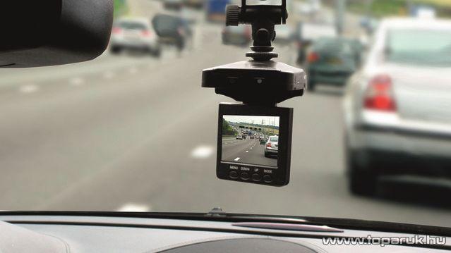 """SAL DVR HD1 Autós menetrögzítő kamera, 2,5""""-os LCD kijelzővel"""