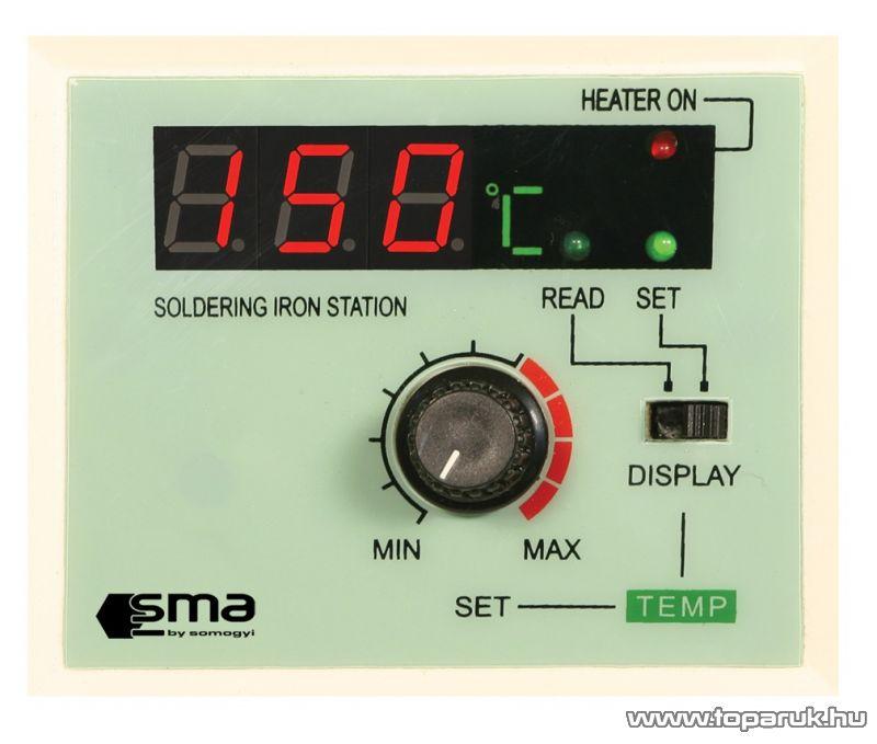 SMA 051 Forrasztópáka állomás LED kijelzővel