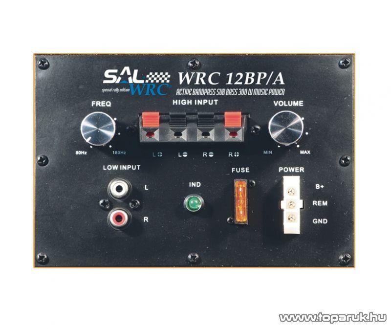 SAL WRC 12BP/A Aktív szubláda, 300 mm, bandpass - megszűnt termék: 2015. április