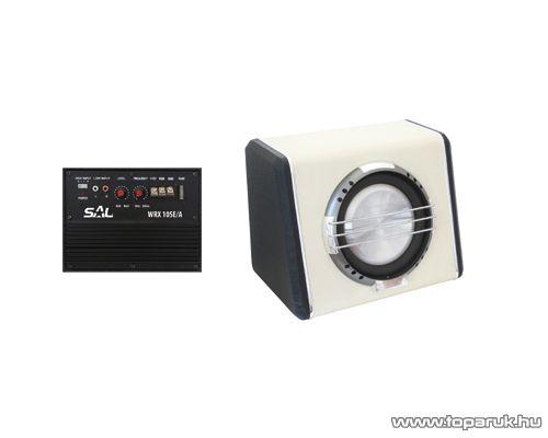 SAL WRX 10SE/A Aktív szubláda, 250 mm, zárt, 200W-os, fehér, egyedi design