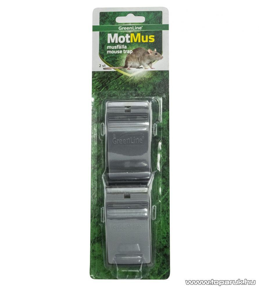 SILVERLINE IN 75140 Mouse catcher (MotMus) 2-pack Mechanikus egérfogó szett - megszűnt termék: 2016. november