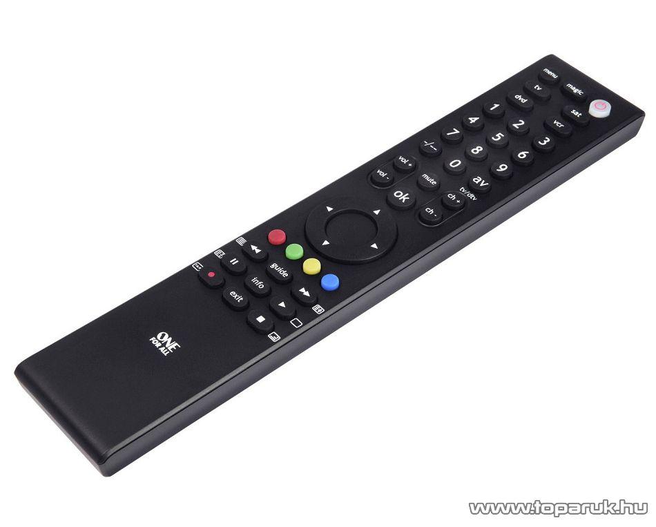 One For All URC 3940 Tanítható univerzális TV távirányító, LCD, LED és plazma televíziókhoz, 4 in 1 - megszűnt termék: 2016. október