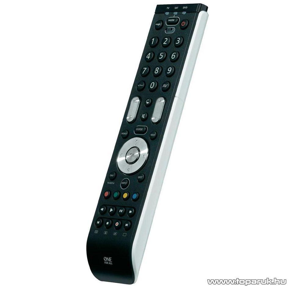 One For All URC 7130 Univerzális TV távirányító, LCD, LED és plazma televíziókhoz, 3 in 1