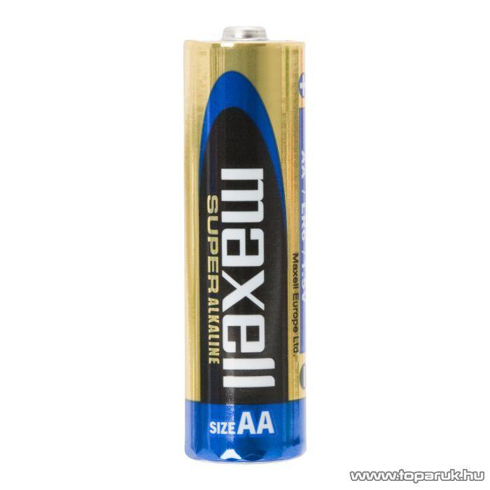 maxell Tartós ceruza elem, AA, LR6, XL Super, Alkaline, 1,5 V, 4 db / csomag (18730)