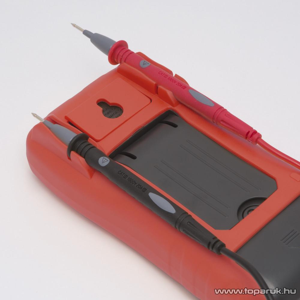 Maxwell MX-25 201 Digitális multiméter hőmérséklet méréssel, TRUE RMS funkcióval (25201)