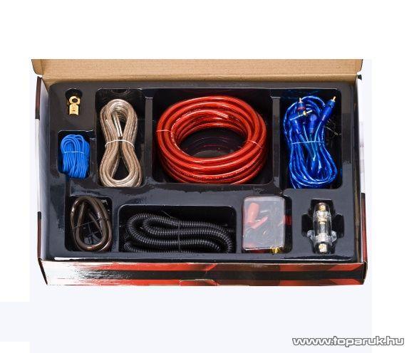 MNC Autó Hi-Fi kábelszett, 33 db-os készlet (20196)