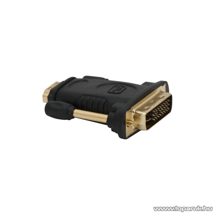 Delight DVI / HDMI átalakító, HDMI aljzat - DVI dugó, aranyozott (05740)