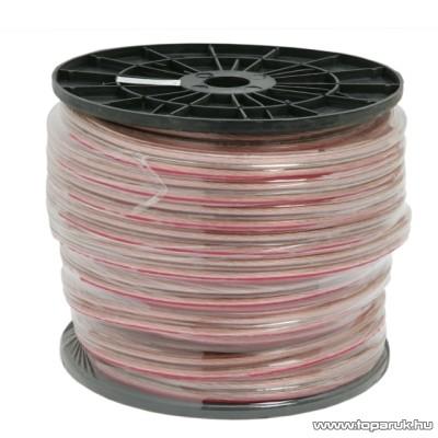 Hangszóró vezeték, 2 x 4,00 mm2, 50 m/műanyag dob (20017)