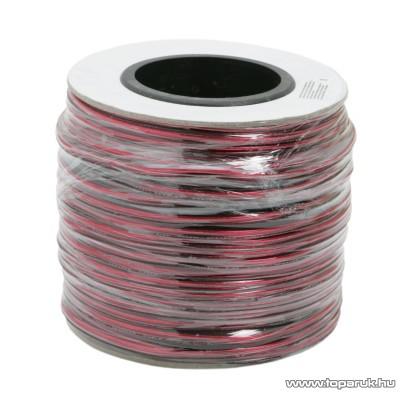 Hangszóró vezeték, 2 x 0,50 mm2, 100 m/papírdob (20026)