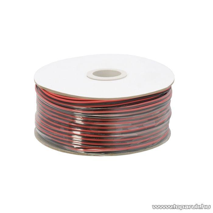 Hangszóró vezeték, 2 x 0,50 mm2, 100 m/papírdob (20082)