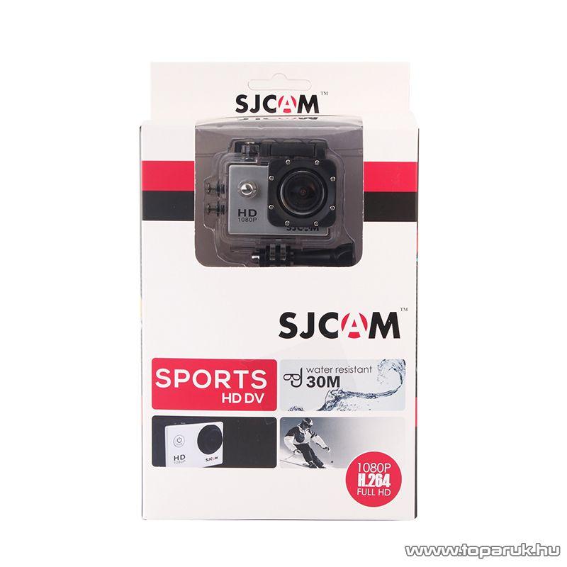 SJCAM SJ4000 sportkamera (FullHD-s kalandkamera) vízálló házzal, ezüst