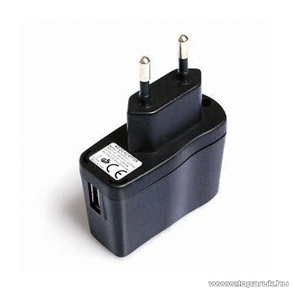 SJCAM gyári hálózati töltő USB csatlakozóval (kalandkamerához)