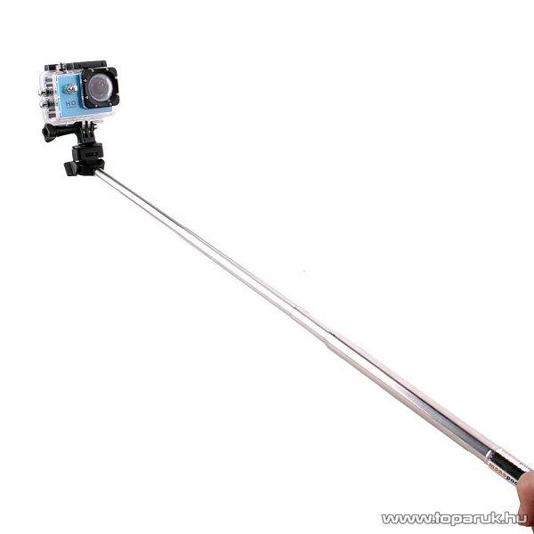 SJCAM gyári SJ55 monopod (selfie bot) SJCAM kalandkamerákhoz, SJCAM adapterrel
