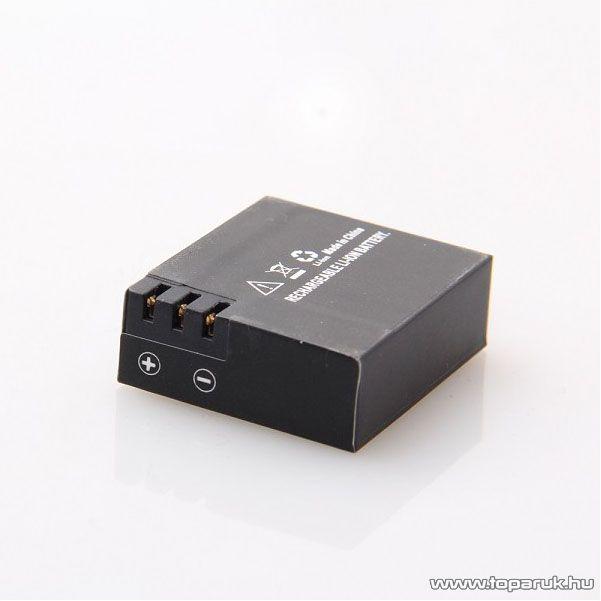 SJCAM gyári akkumulátor SJ4000 / M10/ SJ5000 típushoz sportkamerákhoz, 900 mAh