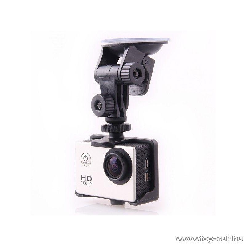 SJCAM gyári autós szett (tartó + töltő) SJ4000 / M10/ SJ5000 típusú sportkamerákhoz