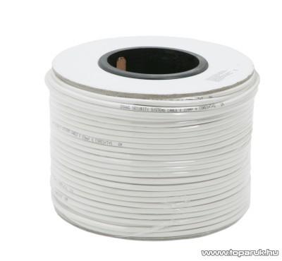 Riasztó vezeték, 6 x 0,22 mm, 100 m/papírdob (20072)